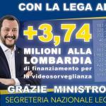 Grimoldi: Il Governo del buonsenso sta rendendo la nostra Lombardia sempre più sicura