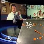 Salvini a In Mezz'Ora, migranti: ministri governo Gentiloni fanno scafismo di stato, Zuccaro vada avanti per la sua strada. M5S parla bene ma razzola male: su immigrazione peggio del Pd