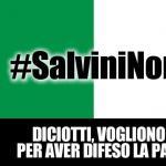 #SalviniNonMollare