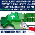 """Autonomia, Cecchetti e Colla: """"Il 22 ottobre sarà il giorno della liberazione per i lombardi e i veneti"""""""