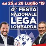 4^ FESTA NAZIONALE LEGA LOMBARDA dal 25 al 28 Luglio 2019 | Golasecca (VA) via Europa 1/c | Centro Sportivo