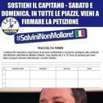 Grimoldi: Sabato 2 febbraio e domenica 3 febbraio la Lega in Lombardia si mobilita scendendo in piazza con migliaia di banchetti a sostegno del vicepremier e Ministro dell'Interno, Matteo Salvini