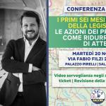 CONFERENZA STAMPA Gruppo Lega – Lega Lombarda Salvini