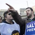 Salvini, accordo con FI sulla base del programma.  Gentiloni dorme, Napolitano traditore.