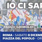 Sabato 8 dicembre tutti a #Roma! Io ci sarò!  E tu?  #IostoconSalvini #SalviniPremier