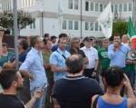 Salvini bis nella bergamasca, a Filago e Romano. Belotti (Lega): «Basta requisire le palestre»